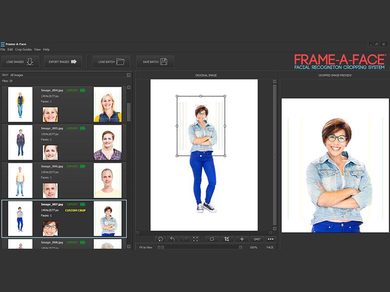 Frame A Face Screen shot